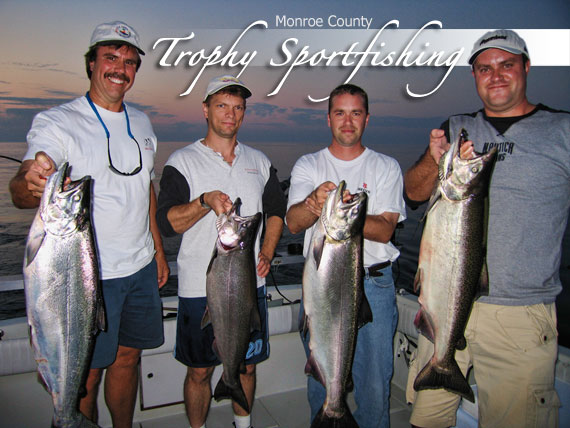 Monroe County Trophy Sportfishing Trout and Salmon